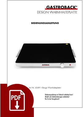 42491 - Design Warmhalteplatte - BDA