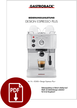 42606 - Design Espresso Plus - BDA