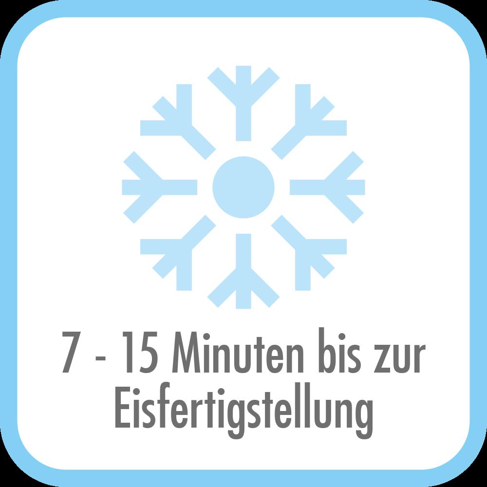 Eiswürfelbereiter Bartender Pro - 7 bis 15min bis zur Fertigstellung