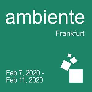 Ambiente 2020<br />07. - 11.02.2020