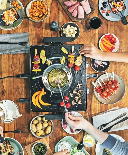 Design Raclette Fondue Advanced