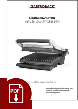 42514 - Health Smart Grill Pro - BDA
