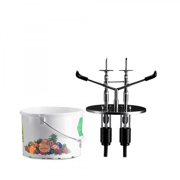 9.5 | EDU-2-KB-10 Göbber/Aust | 2-teilig passend für 10 Liter Göbber Kunststoff-Eimer