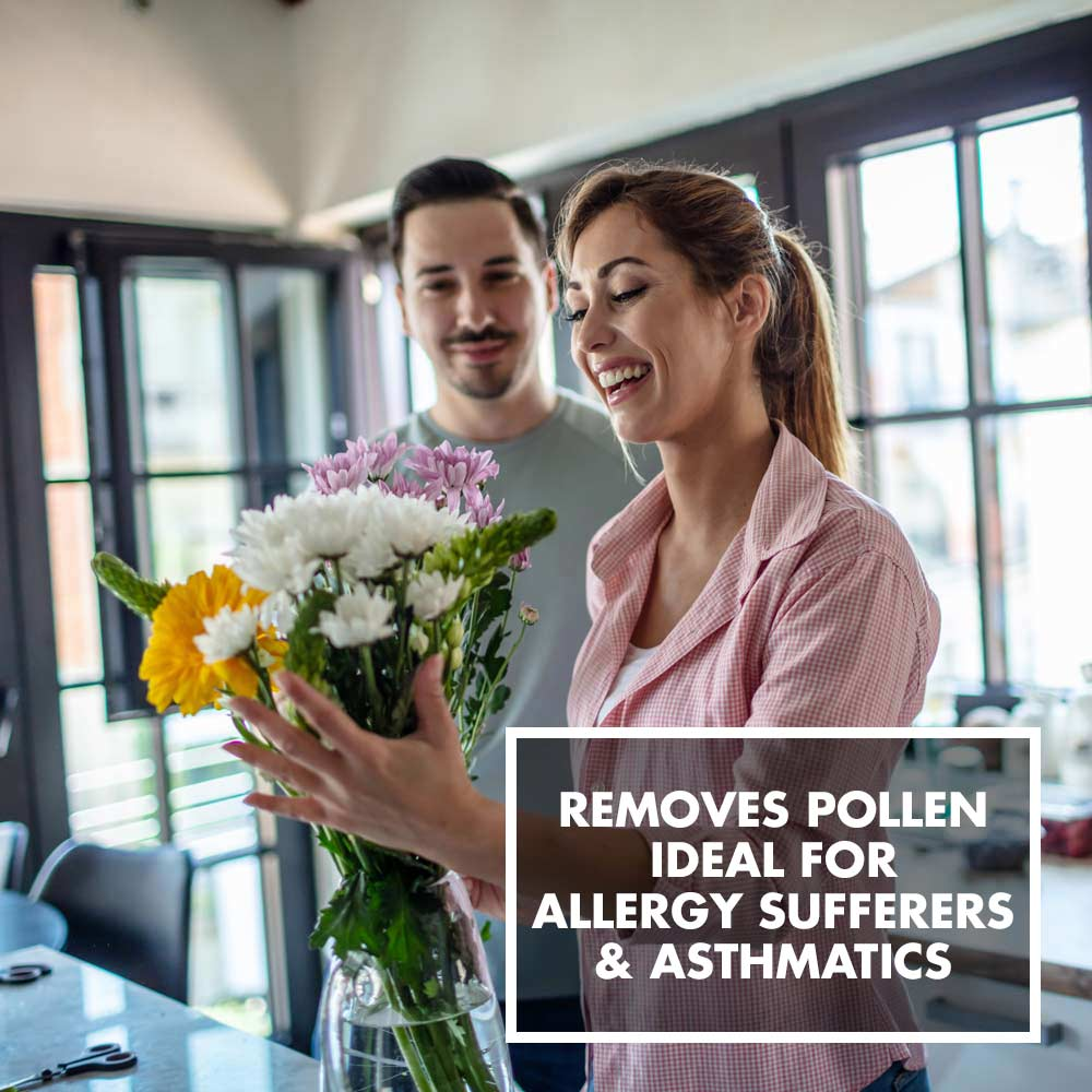 GASTROBACK® - Removes Pollen - Ideal for allergy sufferers & astmatics