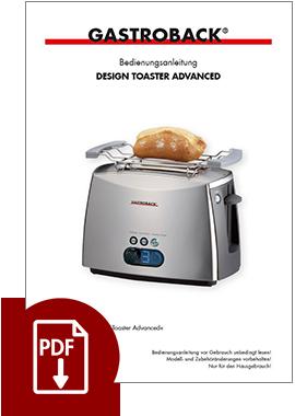 42404 - Design Toaster Advanced - BDA