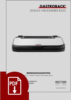 46009 - Design Vakuumierer Basic - BDA