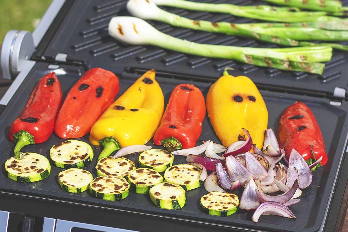 Gemüse grillen mit dem Design BBQ Advanced Control