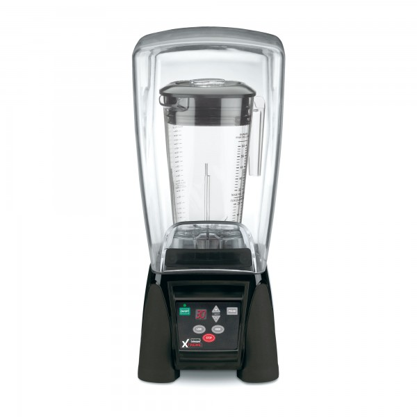 Hi-Power Blender mit Timer und Silent Cover Waring
