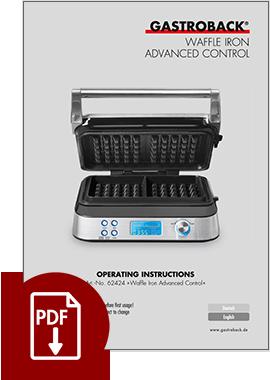 62424 - Waffle Iron Advanced Control - IM