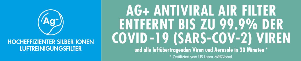 GASTROBACK® Luftreiniger AG+ AirProtect mit Silber-Ion Antiviral Technology
