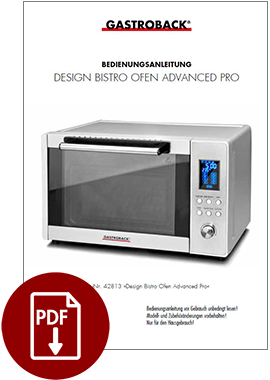 42813 - Design Bistro Ofen Advanced Pro - BDA