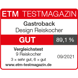 GASTROBACK® Reiskocher - 42507 Design Reiskocher