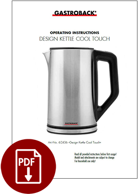 62436_Design_Water_Kettle_Cool_Touch_Operating_Instructions