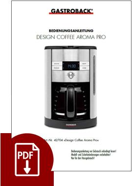 42704 - Design Coffee Aroma Pro - BDA