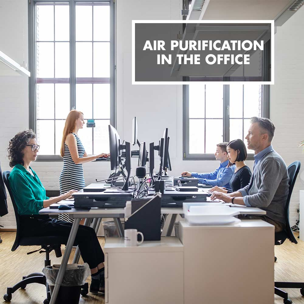 GASTROBACK® - Air purification in the office