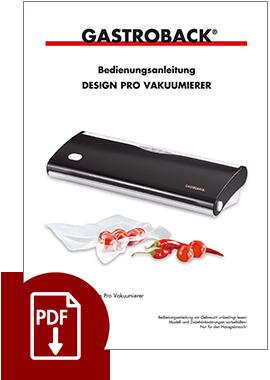 46011 - Design Pro Vakuumierer - BDA