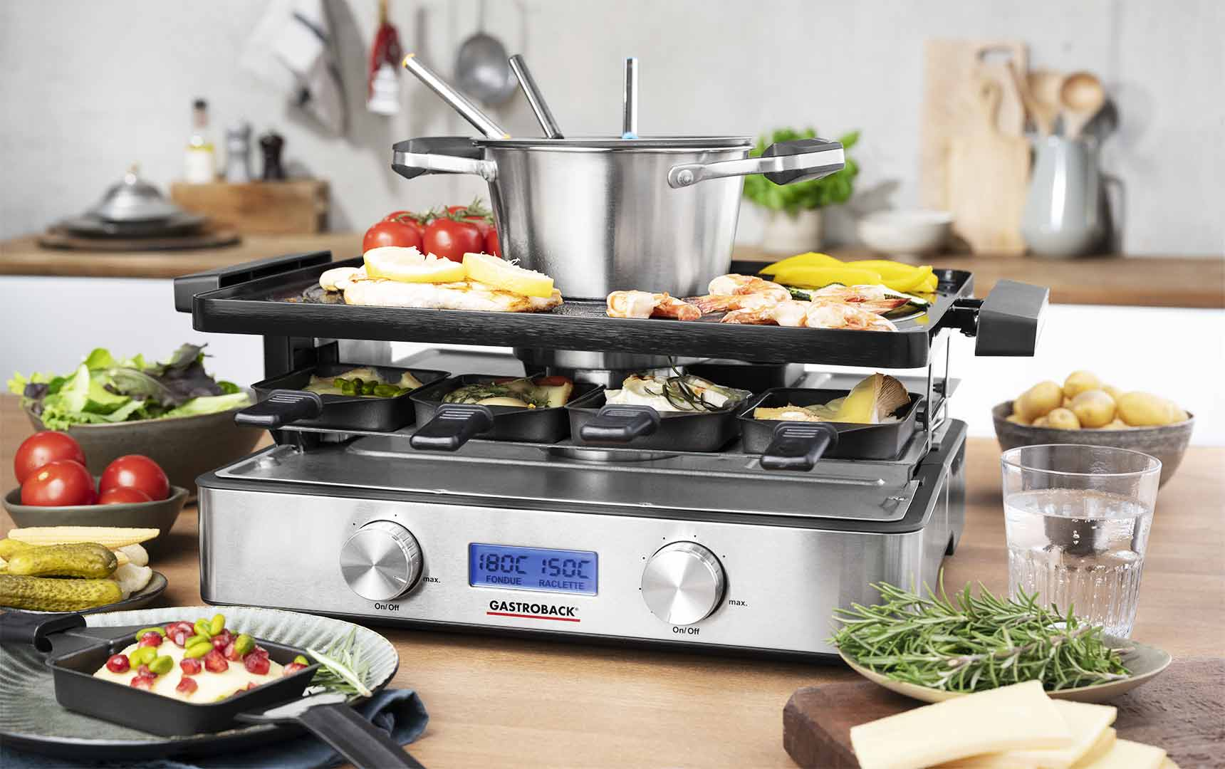 Design Raclette Fondue Advanced Plus