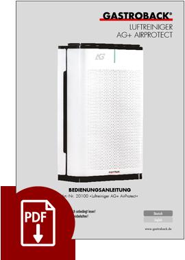 20100 - Luftreiniger AG+ AirProtect - BDA