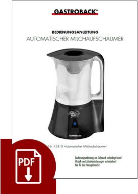 42325 - Automatischer Milchaufschäumer