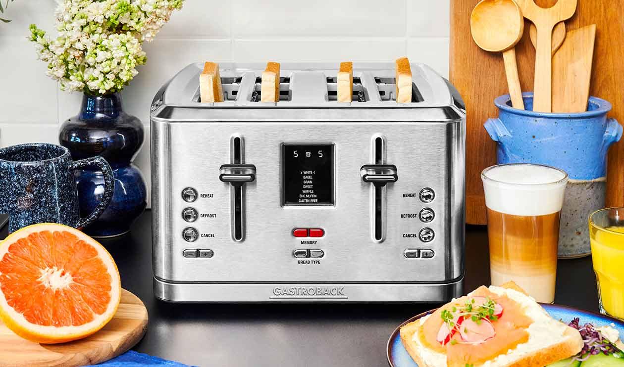 GASTROBACK® Toaster - 42396 Design Toaster Digital 4S