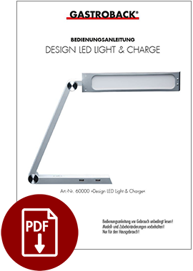 60000 - Design LED Light & Charge - BDA