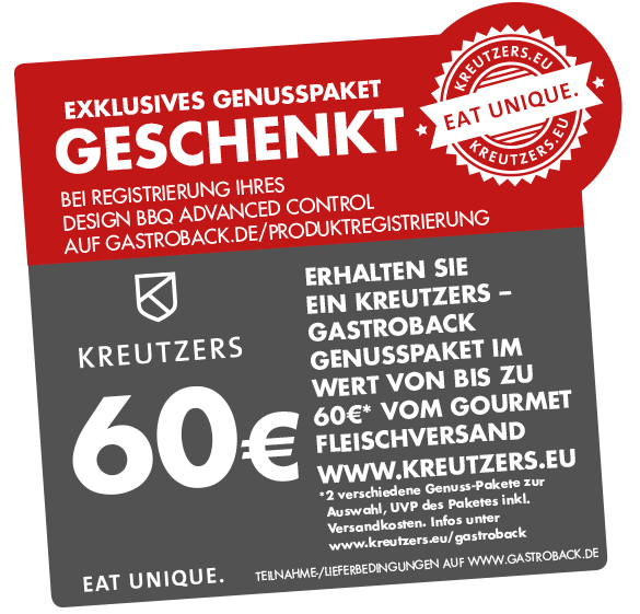 Design BBQ Advanced Control - Kreutzers-Aktion