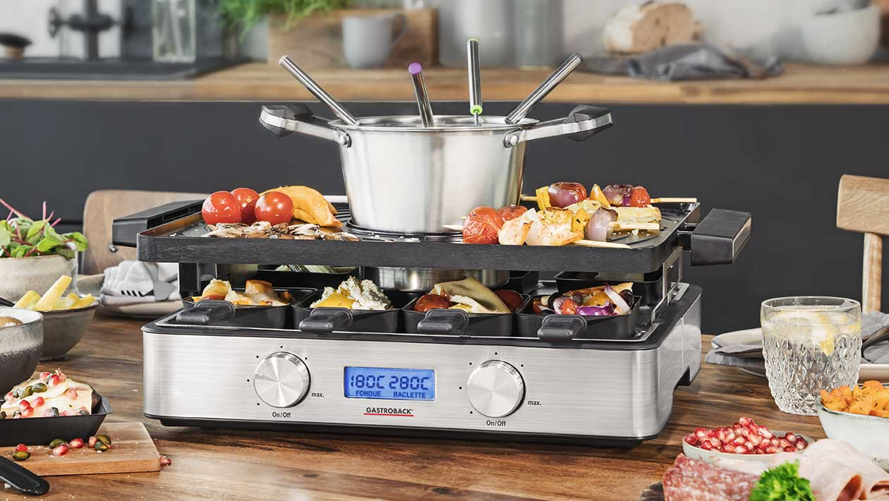 Design Raclette Fondue Advanced