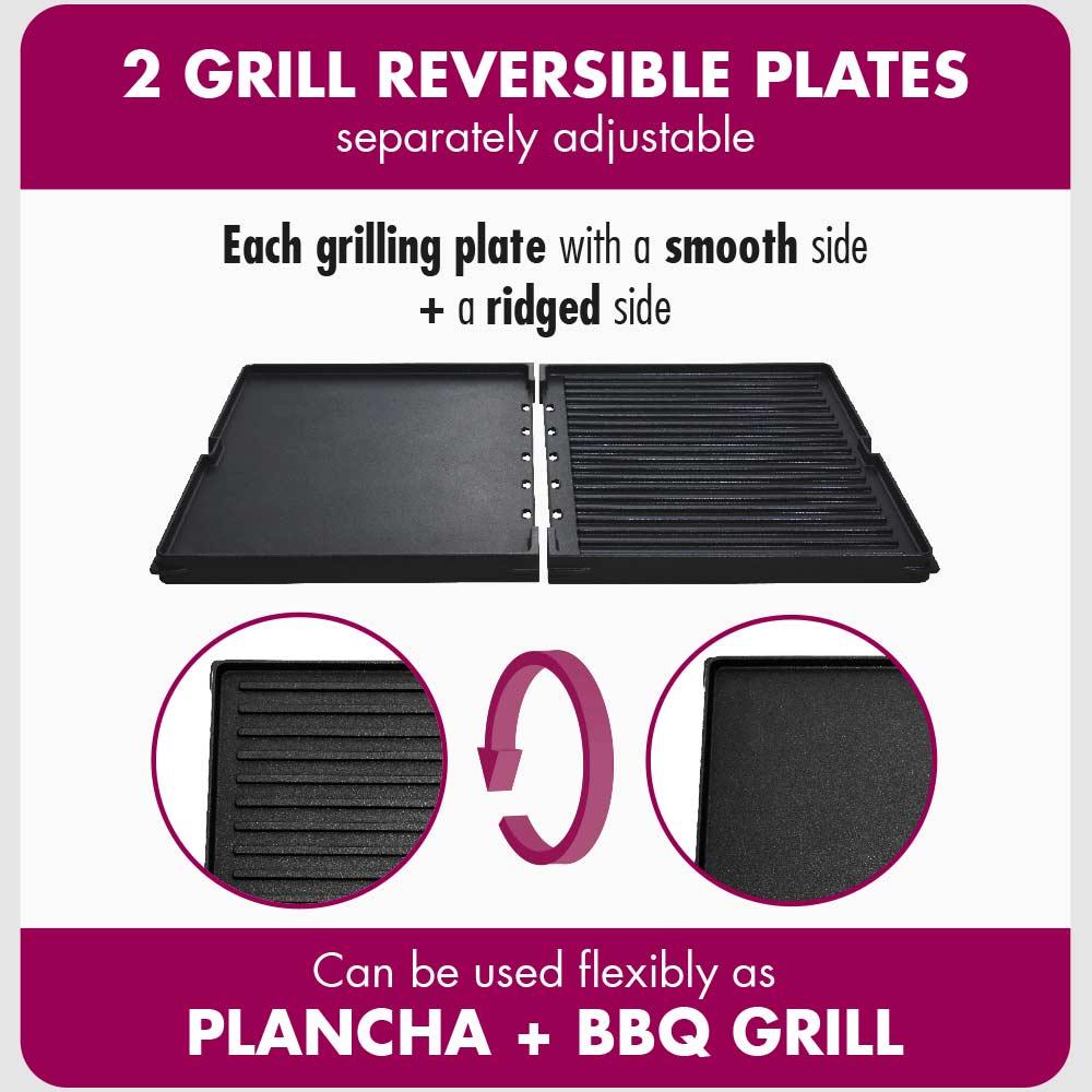 GASTROBACK® Design Table Grill Plancha & BBQ