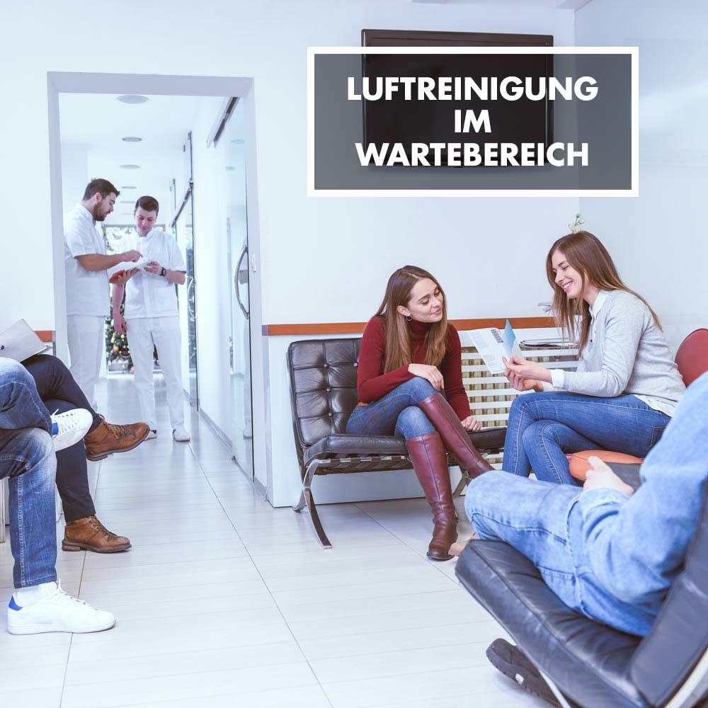 GASTROBACK® - Luftreinigung im Wartebereich