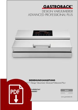 46017 - Design Vacuum Sealer Advanced Professional Plus - IM