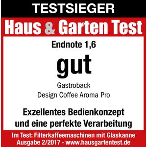 Design Coffee Aroma Pro H&G Testlogo