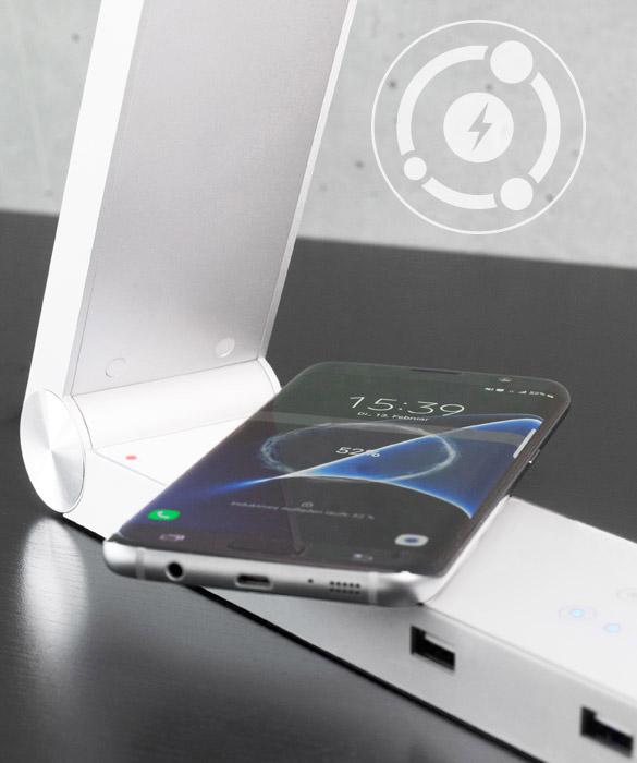 Smartphone kabellos aufladen