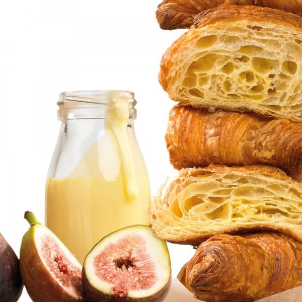 Croissant, Feige & Ricotta Brotpudding
