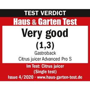 61150 Citrus Juicer Advanced Pro S - Test Verdict