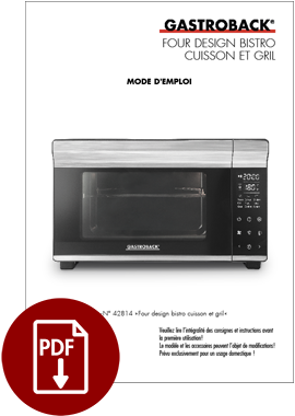 42814 - Design Bistro Oven Bake & Grill - IM