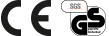 SGS- und CE-Prüfzeichen