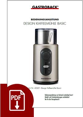 42601 - Design Kaffeemühle Basic - BDA