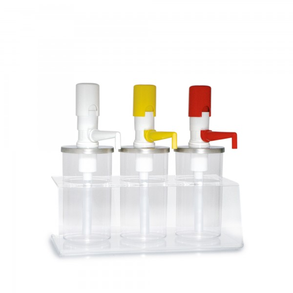 3.8 | PLX-R-BKA-950-2 | Dressingbar aus Acryl