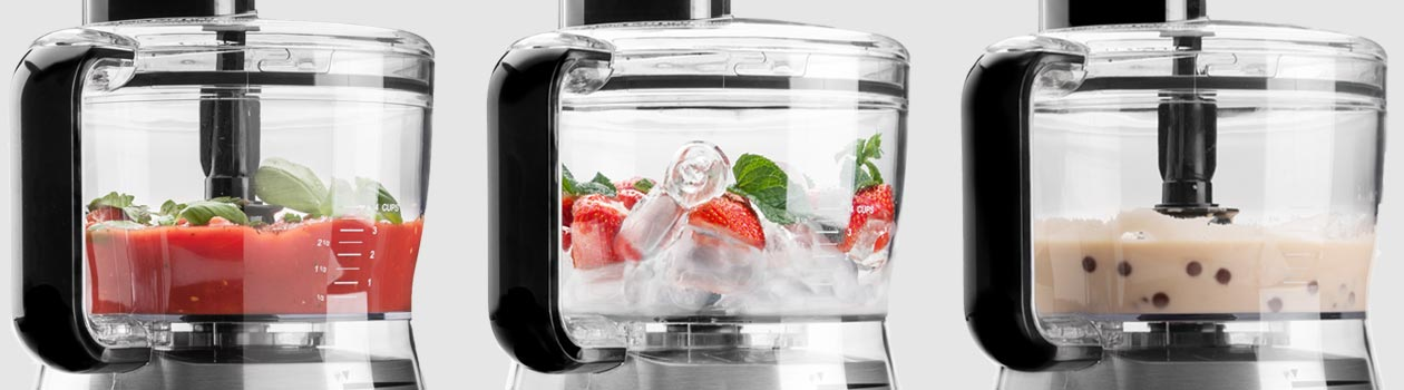 Design Foodprocessor Advanced - Anwendungen