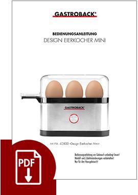 42800 - Design Eierkocher Mini - BDA