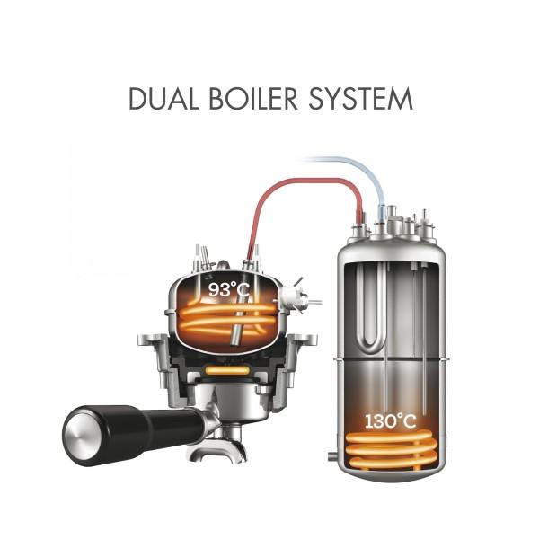 Espressomaschine mit integriertem Mahlwerk Gastroback 42640 Design Professional