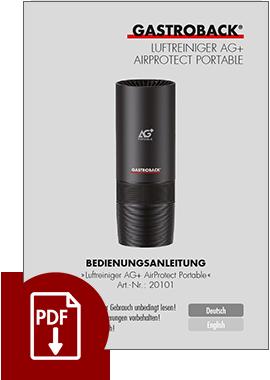 20101 - Luftreiniger AG+ AirProtect Portable - BDA