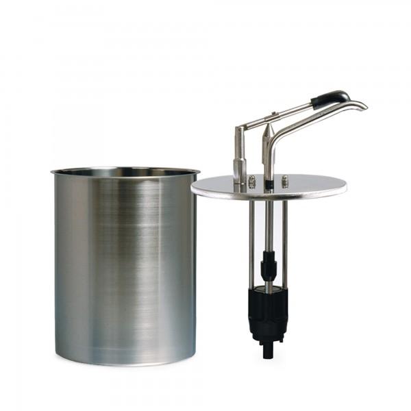 1.3 | CRS-DU-4 | komplett mit zylindrischem Behälter aus Edelstahl (4 Liter)