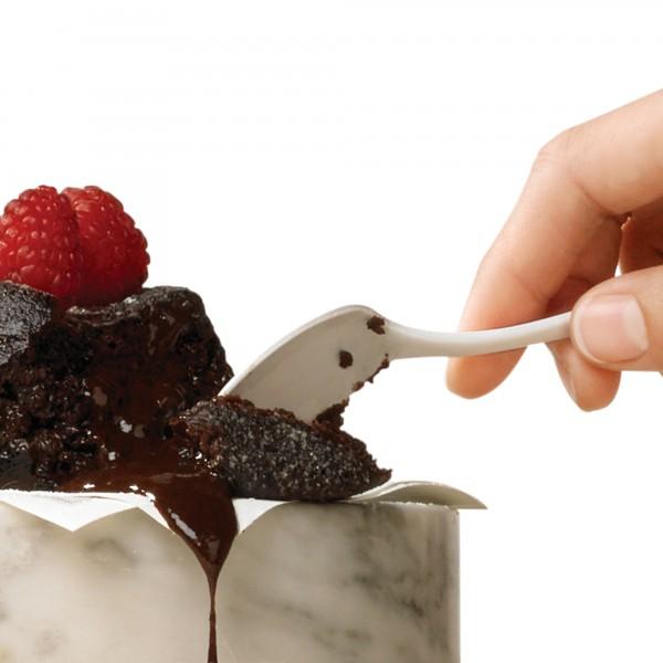 Geschmolzener Schokoladenkuchen
