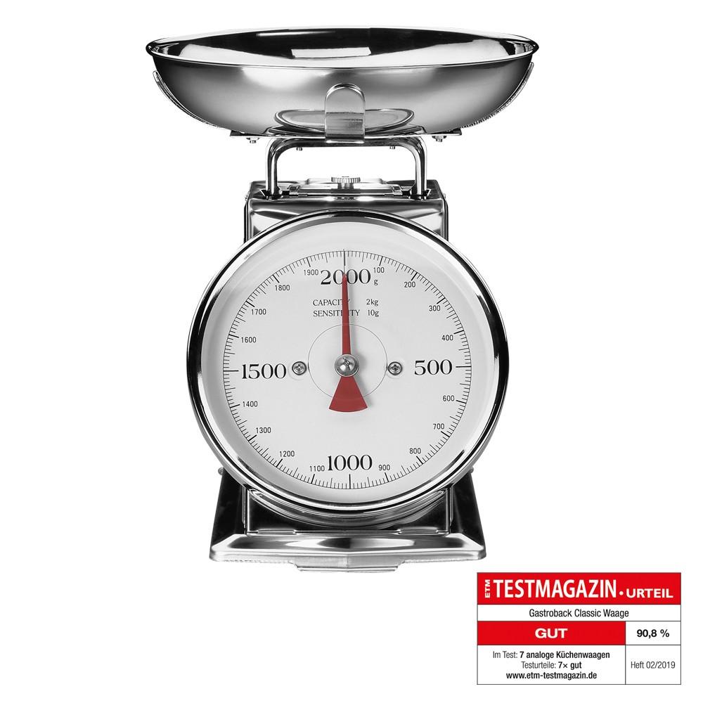 Gastroback Classic Waage 2 kg