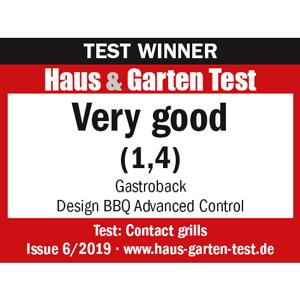 Gastroback_42539_Design BBQ Advanced Control_Haus_und_Garten_Test_Winner_Tablegrill_Contact grill_Grill