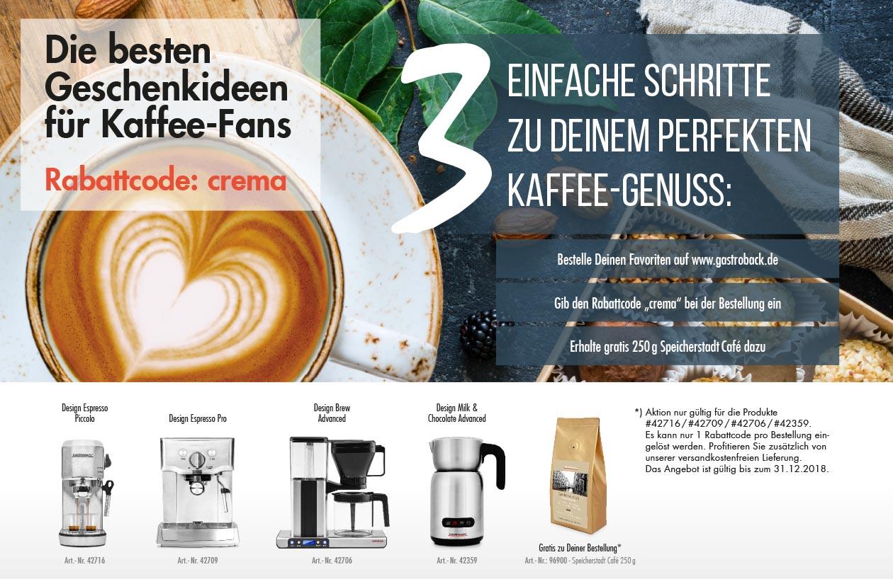 Kaffee-Aktion