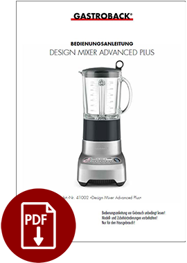 41002 - Design Mixer Advanced Plus - BDA