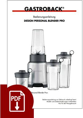 41039 - Design Personal Blender Pro - BDA