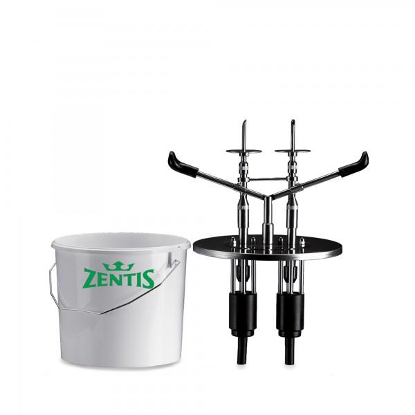 9.3 | EDU-2-KB-10 Zentis | 2-teilig passend für 10 Liter Kunststoff-Eimer